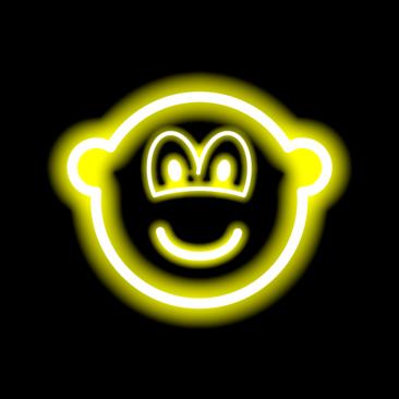 Neon light buddy icon