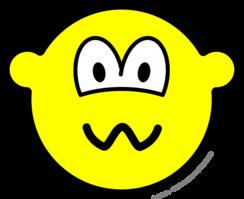 Nervous buddy icon
