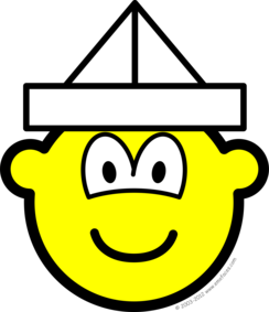 Paper hat buddy icon