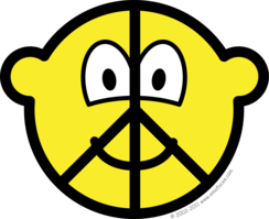 Peace buddy icon