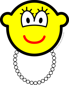 Pearl necklace buddy icon
