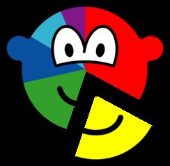 Pie chart buddy icon