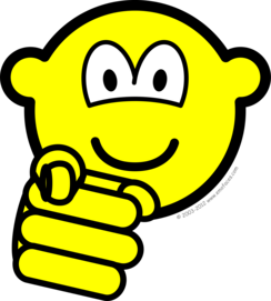 Pointing buddy icon