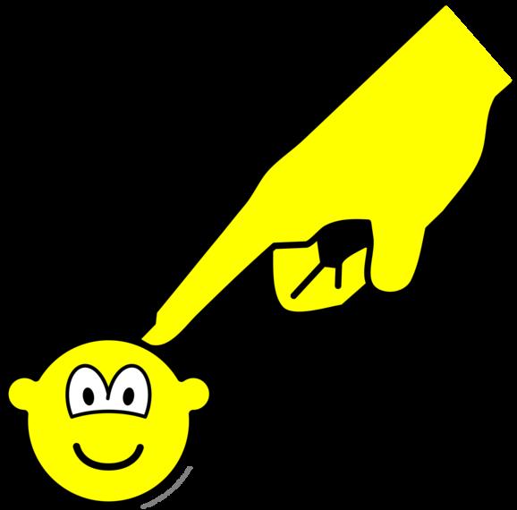 Poked buddy icon