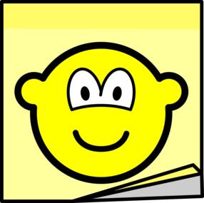 Post-it note buddy icon