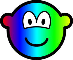 Rainbow buddy icon