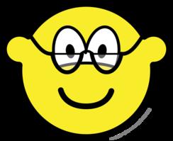 Reading glasses buddy icon