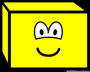 Rectangular prism buddy icon