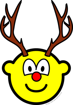 Rudolph the red nosed reindeer buddy icon