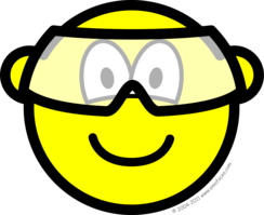 Safety goggles buddy icon