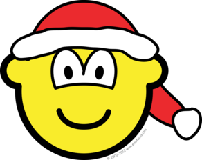 Santa hat buddy icon