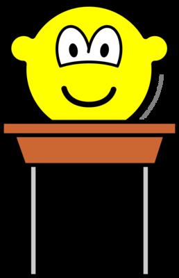 School desk buddy icon