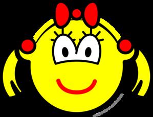 Schoolgirl buddy icon