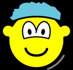 Shower cap buddy icon