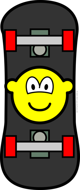 Skateboard buddy icon