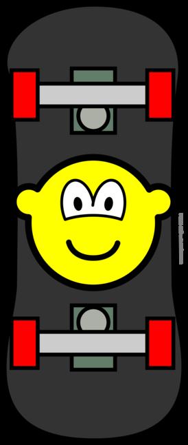 Skateboard buddy icon