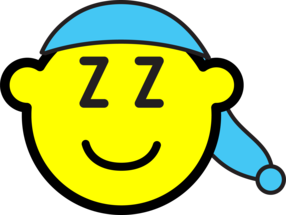 Sleeping cap buddy icon