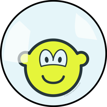 Buddy icon living in a bubble
