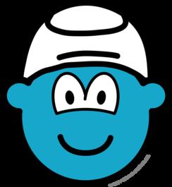 Smurf buddy icon