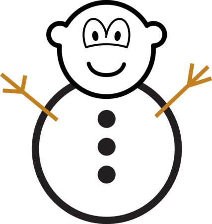 Snowman buddy icon