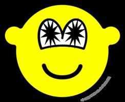 Star eyed buddy icon