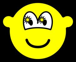 Starry eyed buddy icon