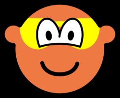 Sunburned buddy icon