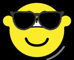 Sunglasses buddy icon