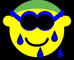 Swimming buddy icon