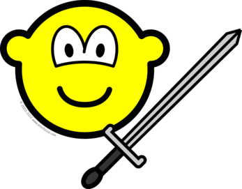 Sword fighter buddy icon