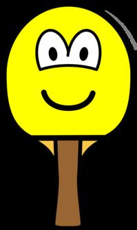 Table tennis bat buddy icon
