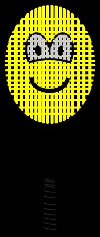 Tennis racket buddy icon