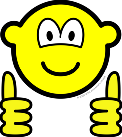 Thumbs up buddy icon