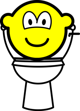 Toilet buddy icon