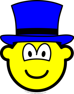 Blue hat buddy icon