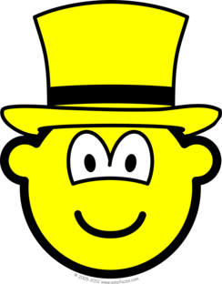 Yellow hat buddy icon