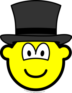 Top hat buddy icon