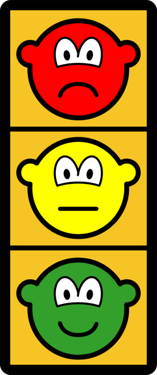 Traffic light buddy icon