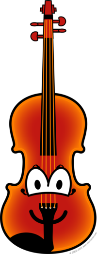 Violin buddy icon