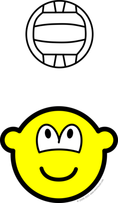 Volleyball playing buddy icon