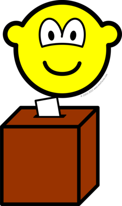 Voting buddy icon
