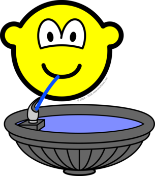 Water fountain buddy icon