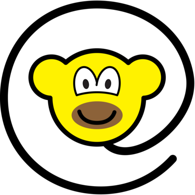 Web monkey buddy icon
