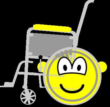 Wheelchair buddy icon
