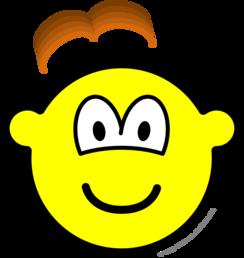 Wig losing buddy icon