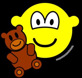 Teddy bear toy buddy icon