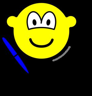 Writing buddy icon