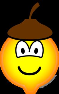 Acorn emoticon