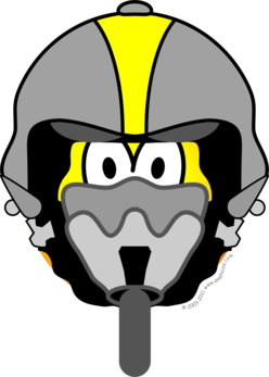 Air force pilot emoticon