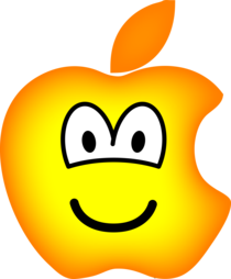 Apple logo emoticon
